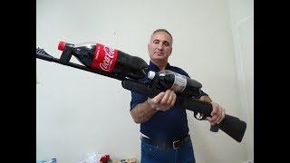 Gambar cover COLA TÜFEK YAPTIK SÜPER ATIYOR   HOW TO MAKE COCA COLA GUN