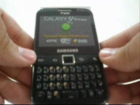 SAMSUNG GALAXY Y PRO DUOS B5512 DOBLE SIM - ALIENWAREC