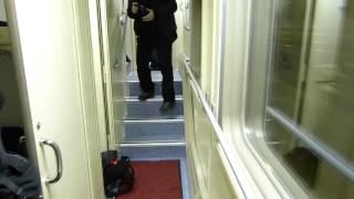 Двухэтажный вагон -- вид изнутри