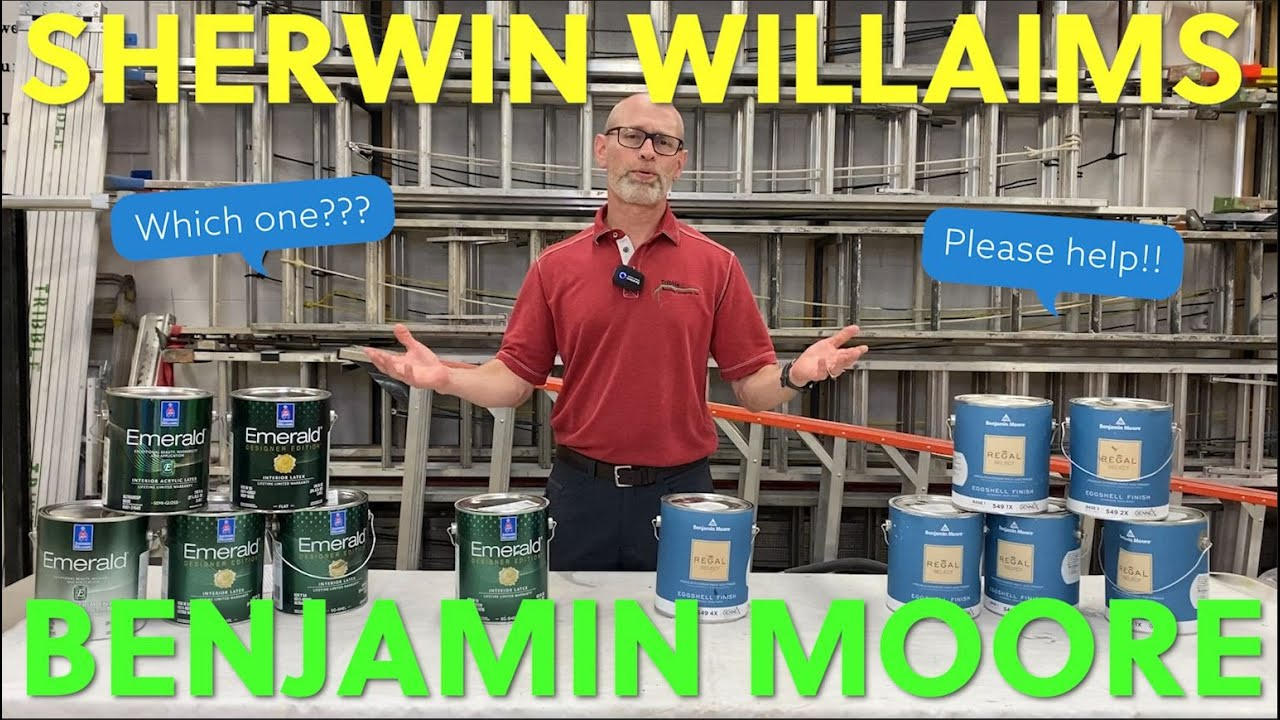 Benjamin Moore Vs Sherwin Williams And Why It Doesn T Matter