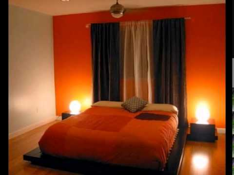 Conceptions chambres coucher avec l 39 orange youtube for Photos chambre a coucher