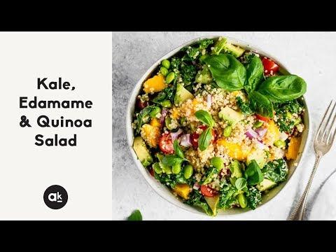 Kale, Edamame & Quinoa Salad