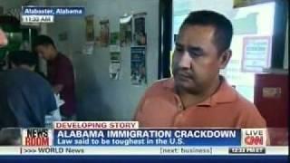 ALABAMA IMMIGRATION CRACK DOWN - CNN NEWS