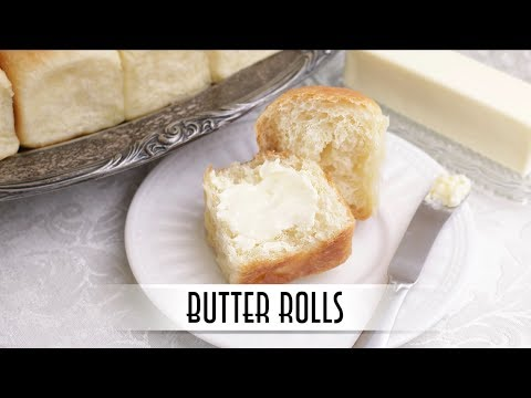 Butter Rolls | No-Knead Method for Soft, Fluffy, and Tender Rolls