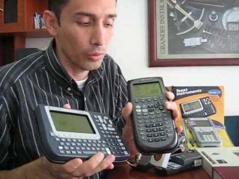 ti 89 titanium calculadora gr ficadora youtube rh youtube com TI- 84 Plus C Silver Edition tutorial ti 89 titanium español