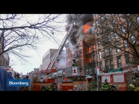 Building Explosion and Collapse in NYC: FDNY says Building Collapse Triggered Seven-Alarm Fire