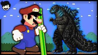 🍄Mario Bros. vs. Godzilla Mayhem!!!🔥 [Mario Cartoon Animation]