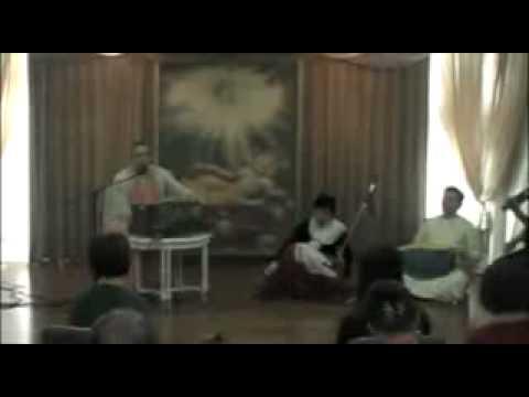 March 1, 2009 - Taichung, Taiwan - Kirtan and Talk to Yoga Students\