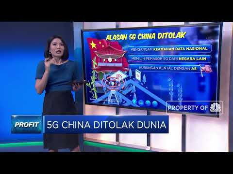 5G China Ditolak Dunia