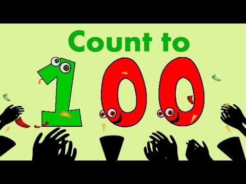 Count to 100 song for children