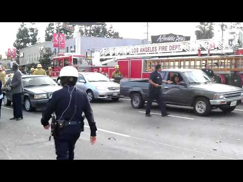Video Test For HTC Sensation 4G... Terrible accident Los Angeles 2011