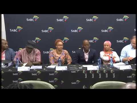 SABC board briefs the media on resignation of Rachel Kalidass