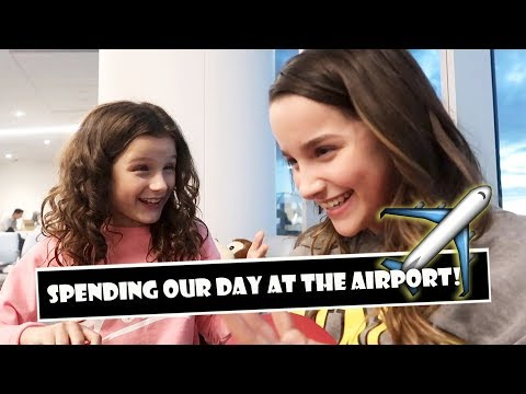 Spending Our Day At The Airport ✈ (WK 371.7) | Bratayley
