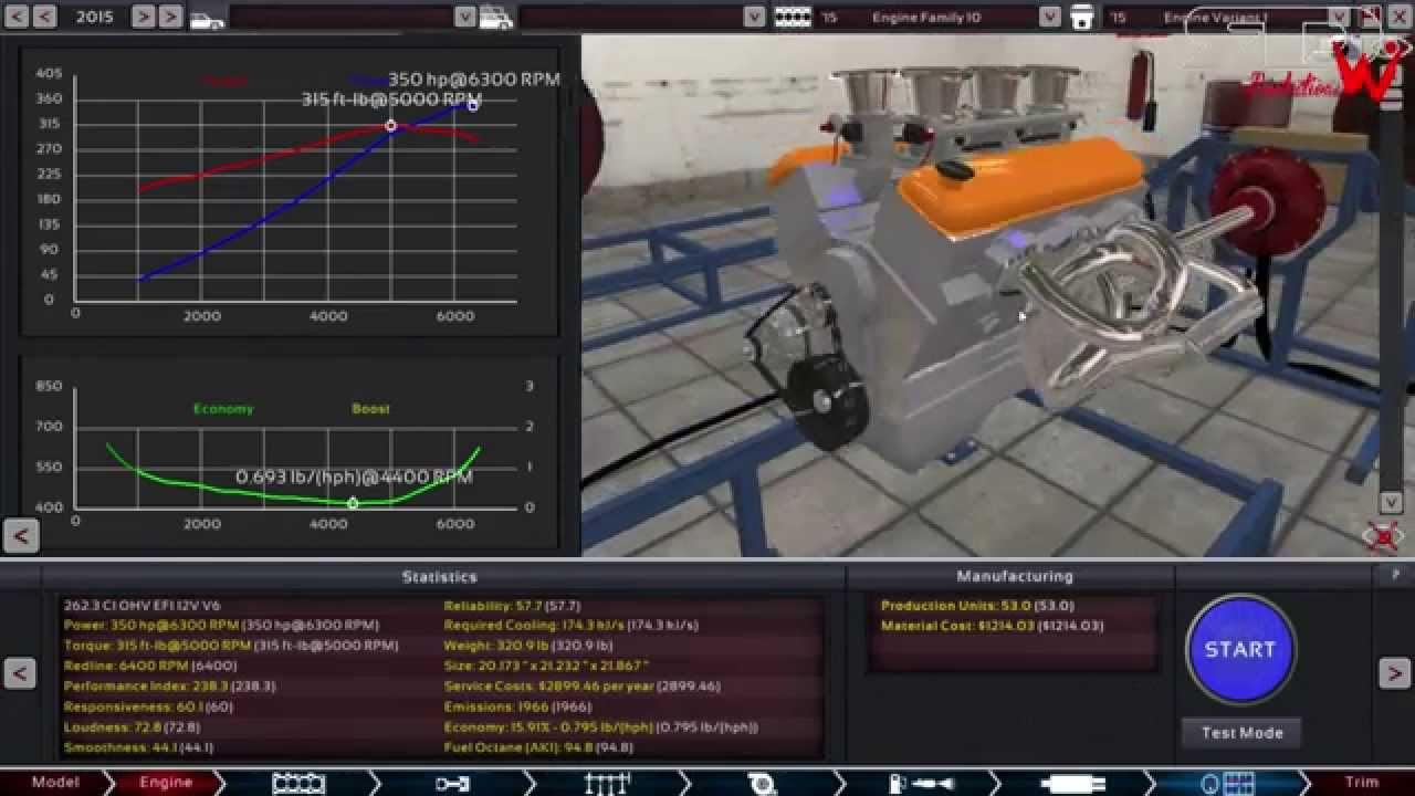Chevy 43l Vortec V6 All Motor With Itbs Build Dyno 4 3 Crate Engine Automation The Car Company Tycoon Youtube