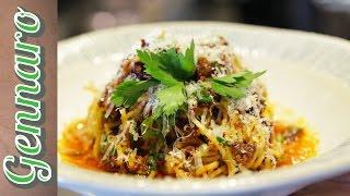Arrabbiata with Spaghetti