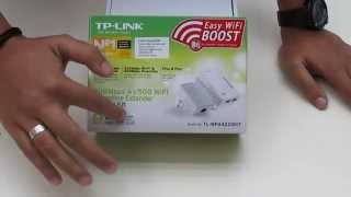 EXTENSOR WIRELESS POWERLINE TP-LINK WPA4220 300 MB