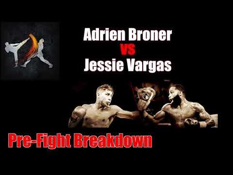 Striking Thoughts  - Broner vs Vargas Pre-Fight Breakdown & Comparison