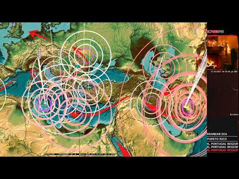 12/13/2017 -- West Coast Earthquake Unrest -- Oregon + California now moving -- Have a plan