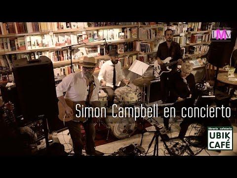 Simon Campbell - Ubik Café - Valencia - LMV Live Music Valencia