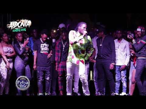 Aidonia An Vybz Kartel Is Di Badest Artist In Jamaica AT AIDONIA BIRTHDAY PARTY IN Ocho Rios 2019