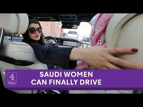 Saudi Arabian women allowed to drive