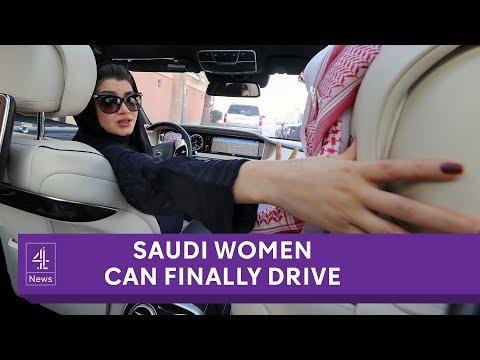 Saudi Arabian women allowed to drive