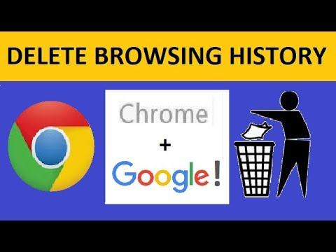How to Delete History in Google Chrome + Google! | Laptop/PC/Smartphone