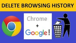 How to Delete History in Google Chrome + Google!   Laptop/PC/Smartphone
