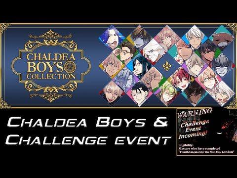 [Fate/Grand Order] Chaldea Boys y Challenge Event Anunciados
