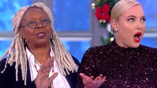 The View: Whoopi Goldberg DEMANDS Meghan McCain Stop Talking