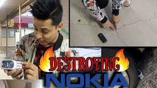 DESTROYING NOKIA PHONE