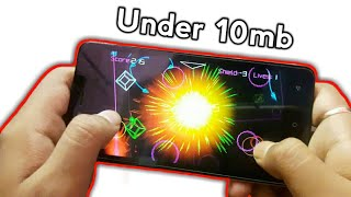 Top 5 Best Small size android Games under 10 mb | best low mb games for android