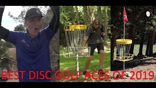 The BEST Disc Golf ACES of 2019-20