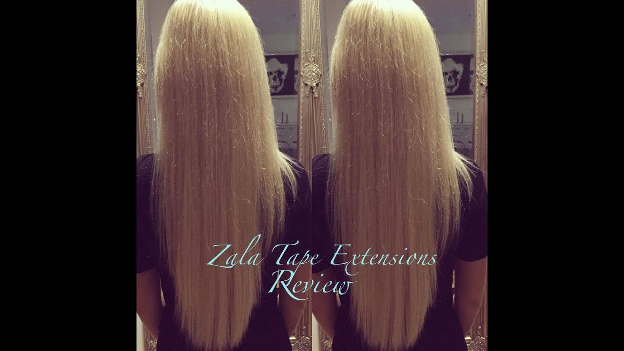 Zala Tape Hair Extensions Review | Meine Erfahrung - YouTube