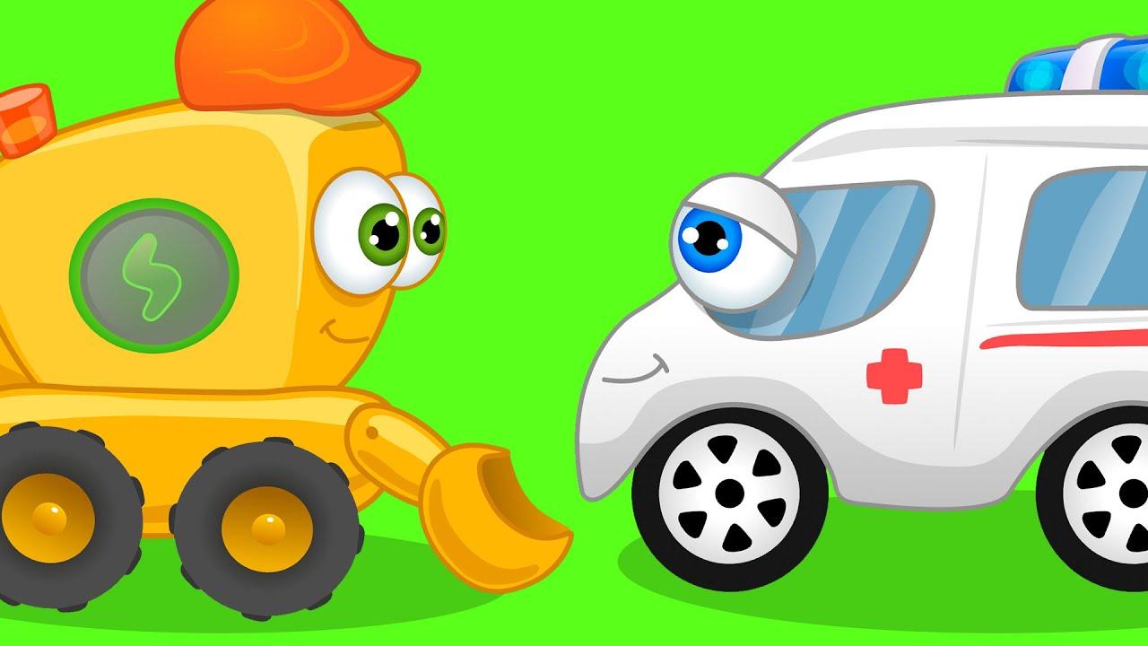 CARS CARTOON LEARN COLORS