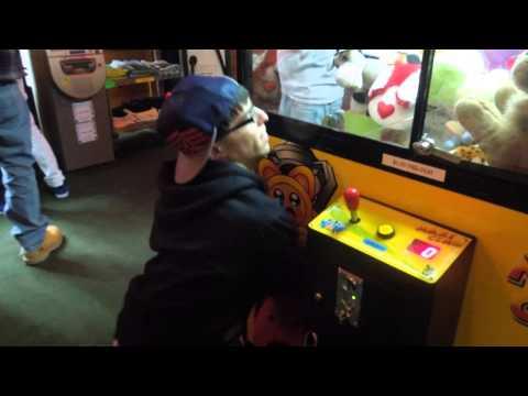 Grabbing a Prize in the Claw Machine - Literally | Matt3756