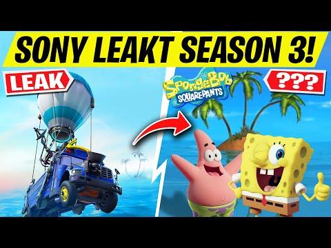 *LEAK* 🌴 SEASON 3 INSEL GEZEIGT! Spongebob Skin In Fortnite?   Fortnite Season 3 Kapitel 2