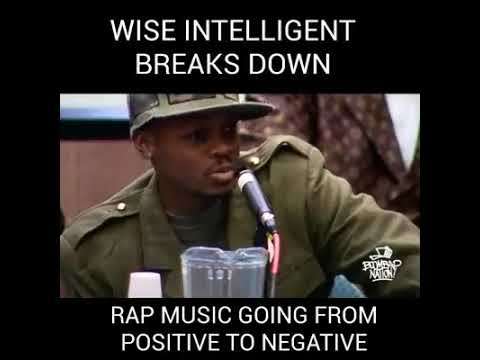 Wise intelligent on the corruption of rap music mp3