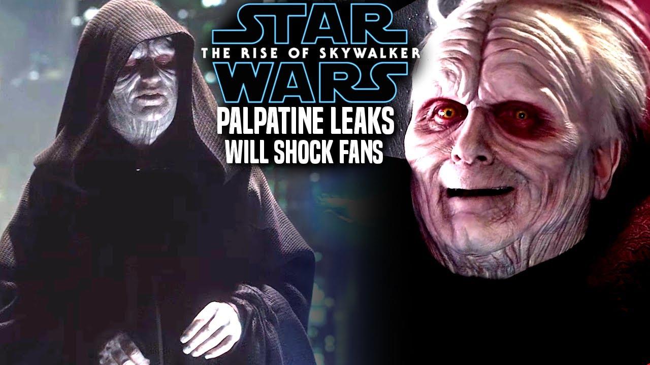 The Rise Of Skywalker Palpatine Leaks Will Shock Fans Star Wars Episode 9 Youtube