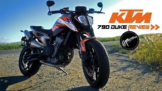 KTM 790 Duke test ride review