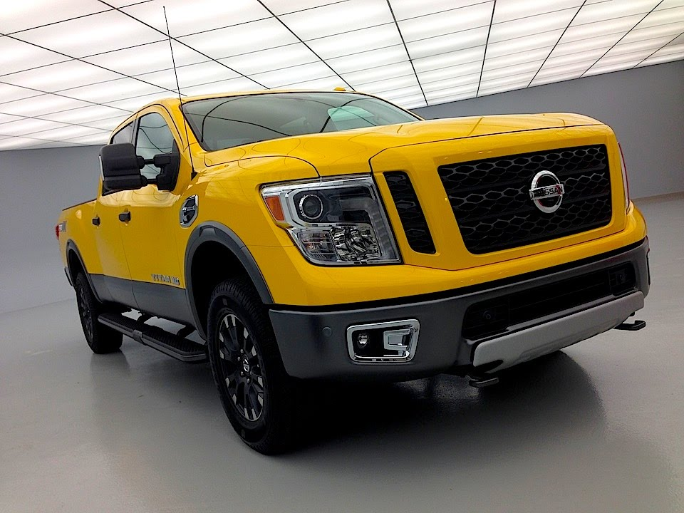 2016 nissan titan xd cummins turbo diesel tech review world premiere youtube. Black Bedroom Furniture Sets. Home Design Ideas