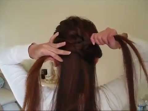 Điệu đà với kiểu tóc thắt nút dễ làm