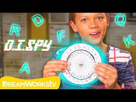 How to Decode a Secret Message! (DIY Decoder)   D.I.SPY