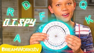 How to Decode a Secret Message! (DIY Decoder) | D.I.SPY