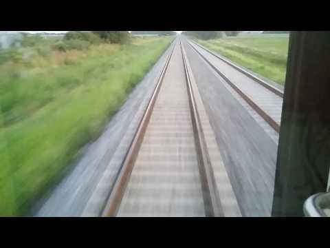 Viajando en El Rosarino. Velocidad máxima registrada 105 km/h entre Zárate y San Pedro. (5)