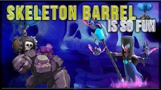 CRAZY GOLEM SKELETON BARREL DECK | UPDATE TALK | Clash Royale