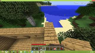 Como hacer una casa rapido simple y facil en MINECRAFT (demo) TURORIAL.