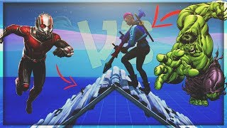 Ant-Man vs le Hulk In Fortnite Battle Royal Glitch!