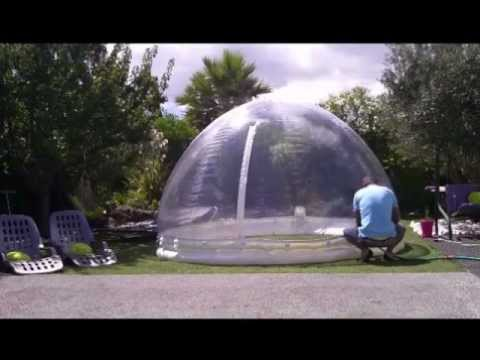 Abri piscine spa gonflable d montage - Abri de spa gonflable ...