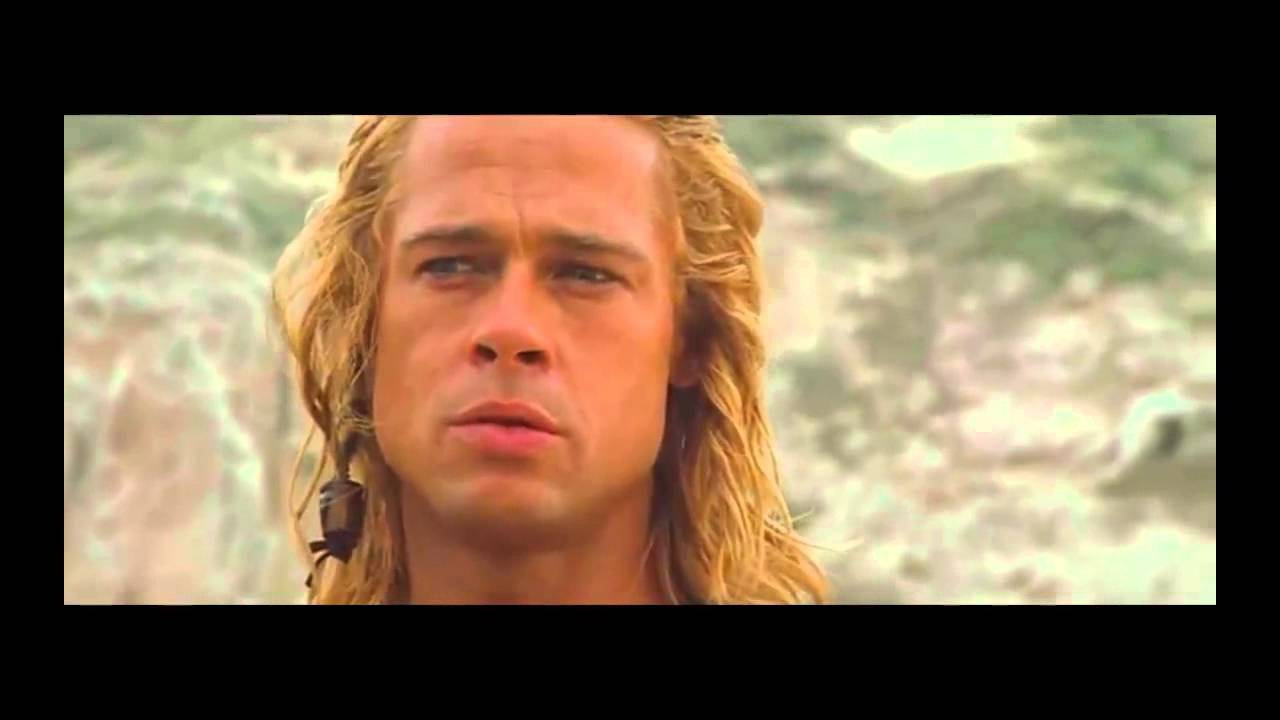 Troy [extended edition] Achilles learns about Patroclus's ...